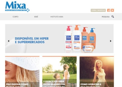 MIXA skincare