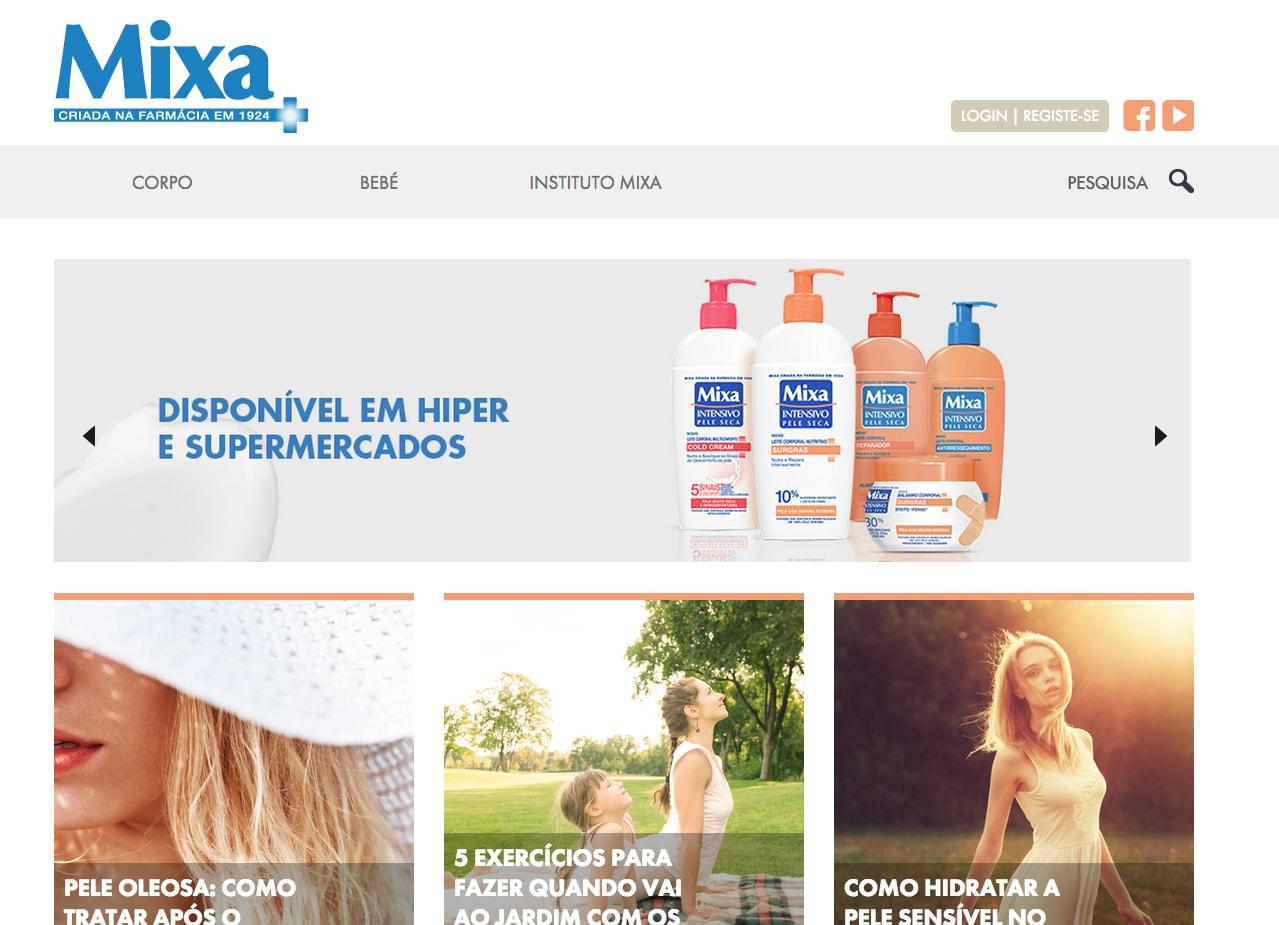 Mixa - Home