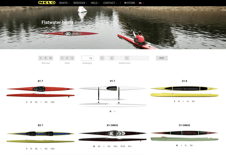 Nelo Kayaks - Search