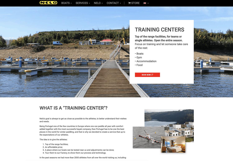 Nelo Kayaks - Training Center