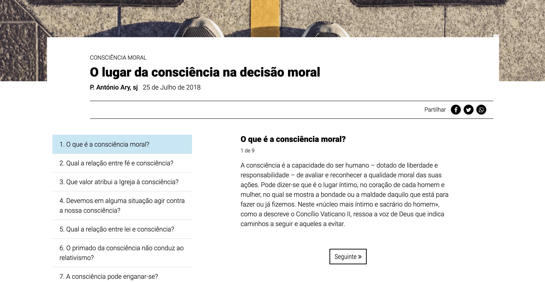 Ponto SJ - Caixa de Perguntas