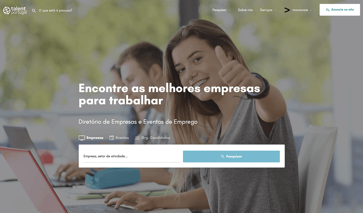 Talent Portugal - Homepage